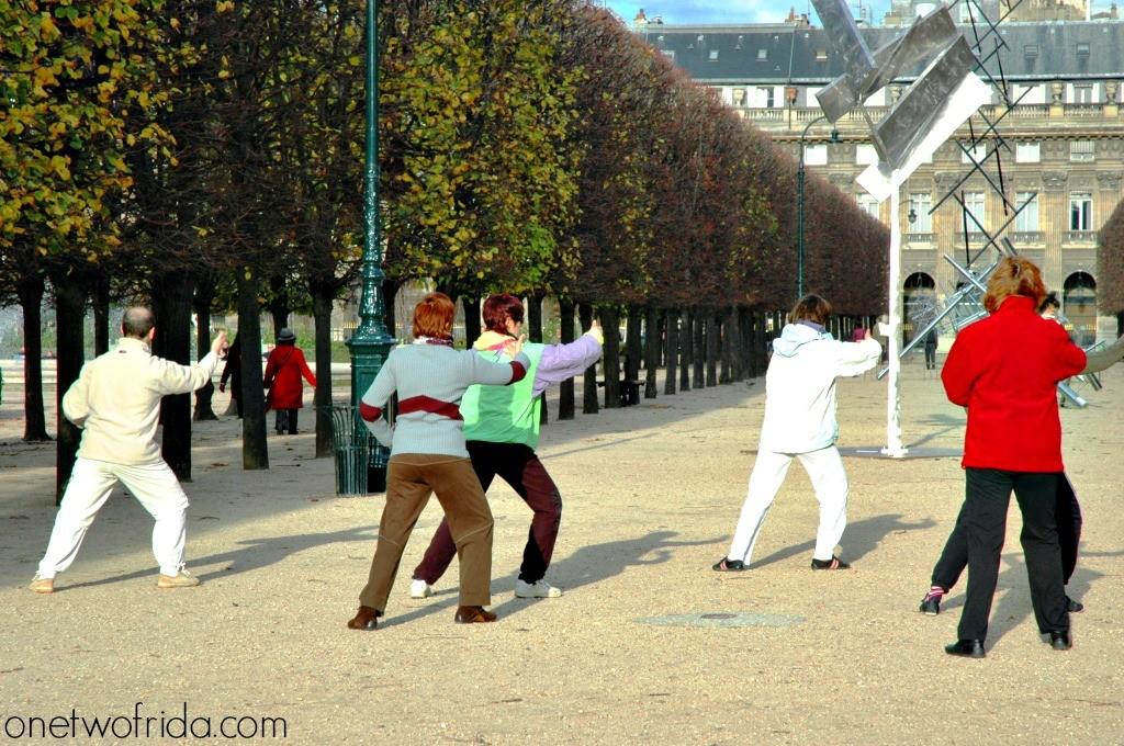 Tai Chi al Palais Royal - Parigi