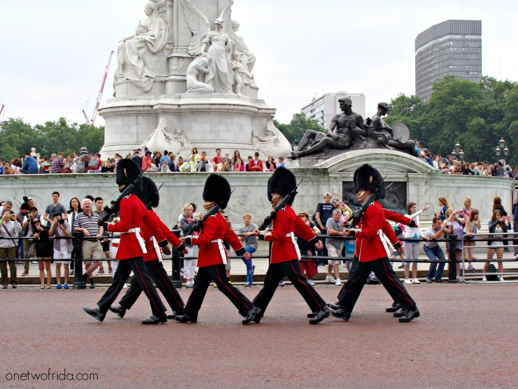 Cambio della guardia - Buckingham Palace - Londra