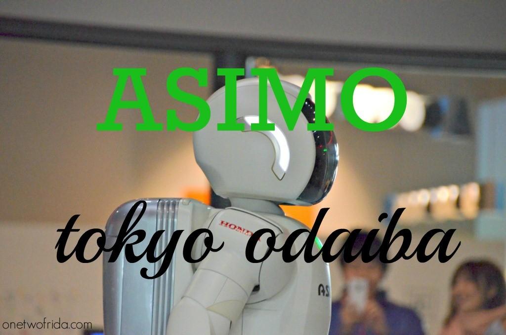 Asimo tokyo odaiba