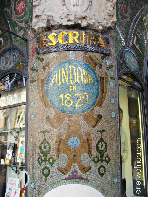 Escriba - Barcellona