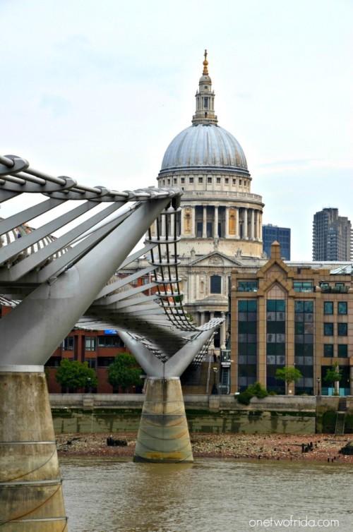 millennium bridge - londra