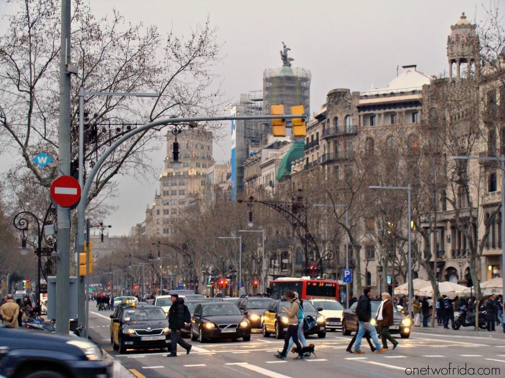 Passeig de Gràcia - Barcellona