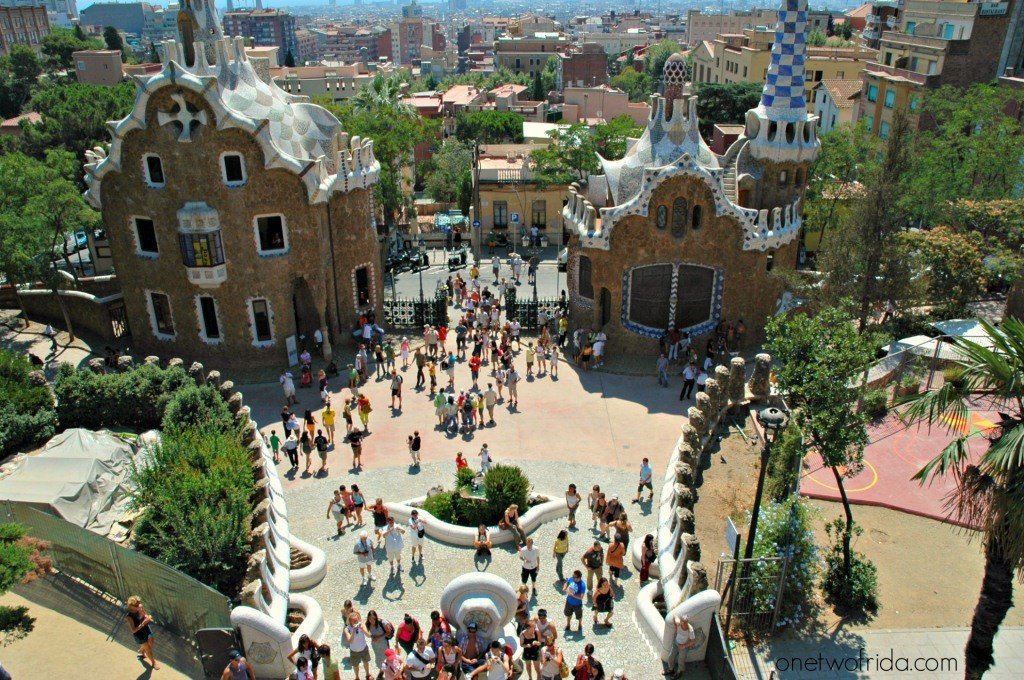 Parco Guell - Barcellonav