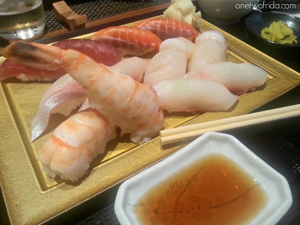 Fukurou Milano sushi