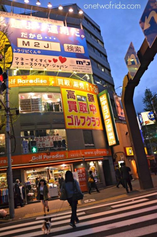itinerari in giappone - tokyo