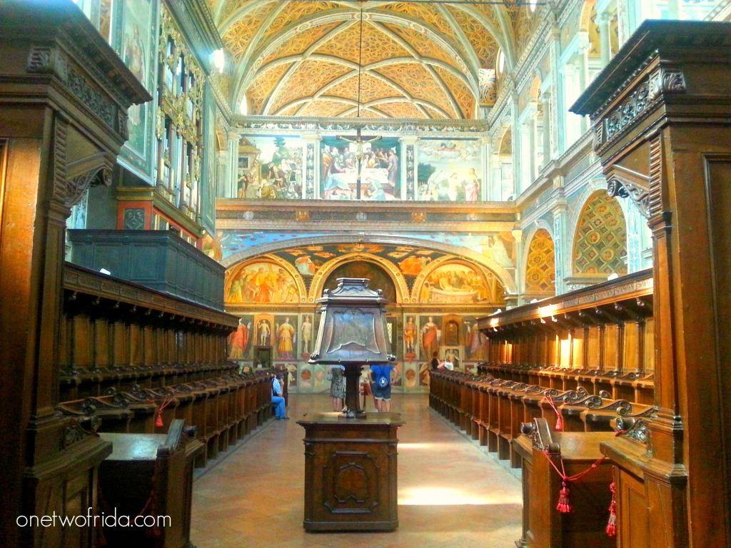 One Two Frida - Milano, chiesa di San Maurizio al Monastero Maggiore