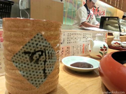 ristorante - ganko sushi - kyoto