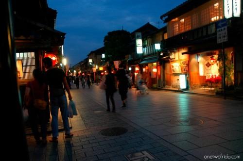 Kyoto - Gion - Hanami-koji Dori