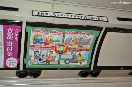 Come muoversi a Kyoto - autobus