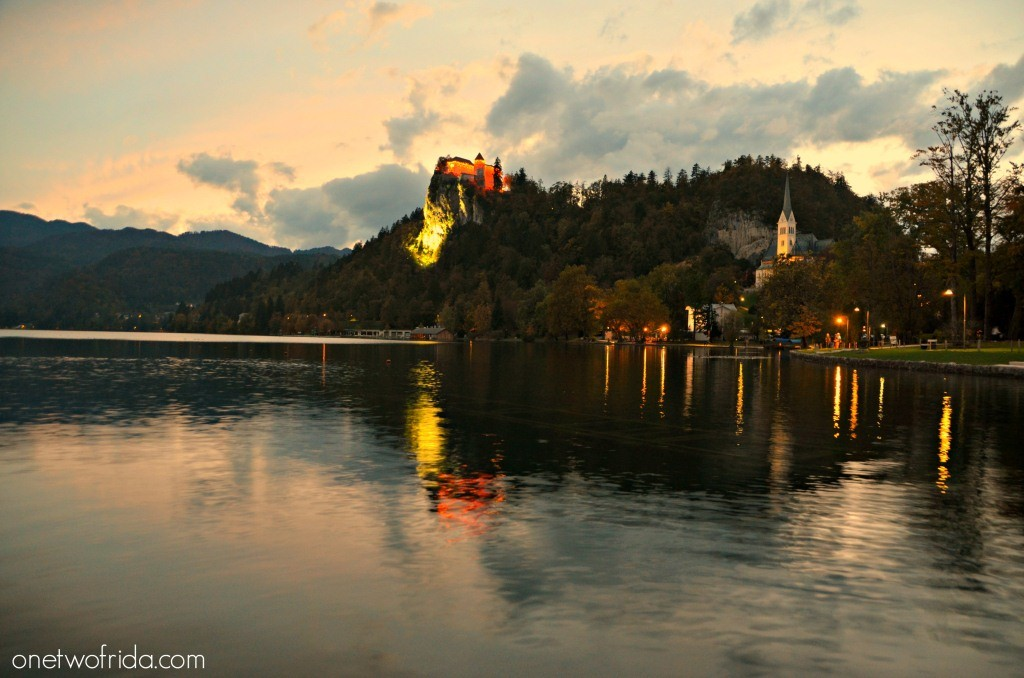 Cosa vedere in Slovenia: itinerario di 2 o 3 giorni - castello di bled