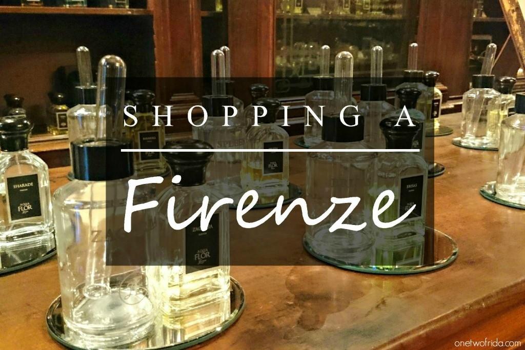 Shopping a Firenze tra negozi non convenzionali