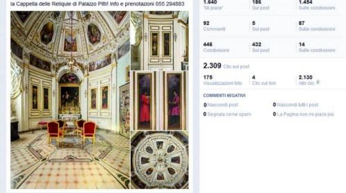 musei italiani poco social