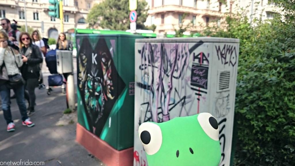 energy box - street art a Milano