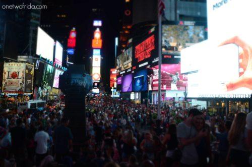 01 - times square - New York una foto al giorno