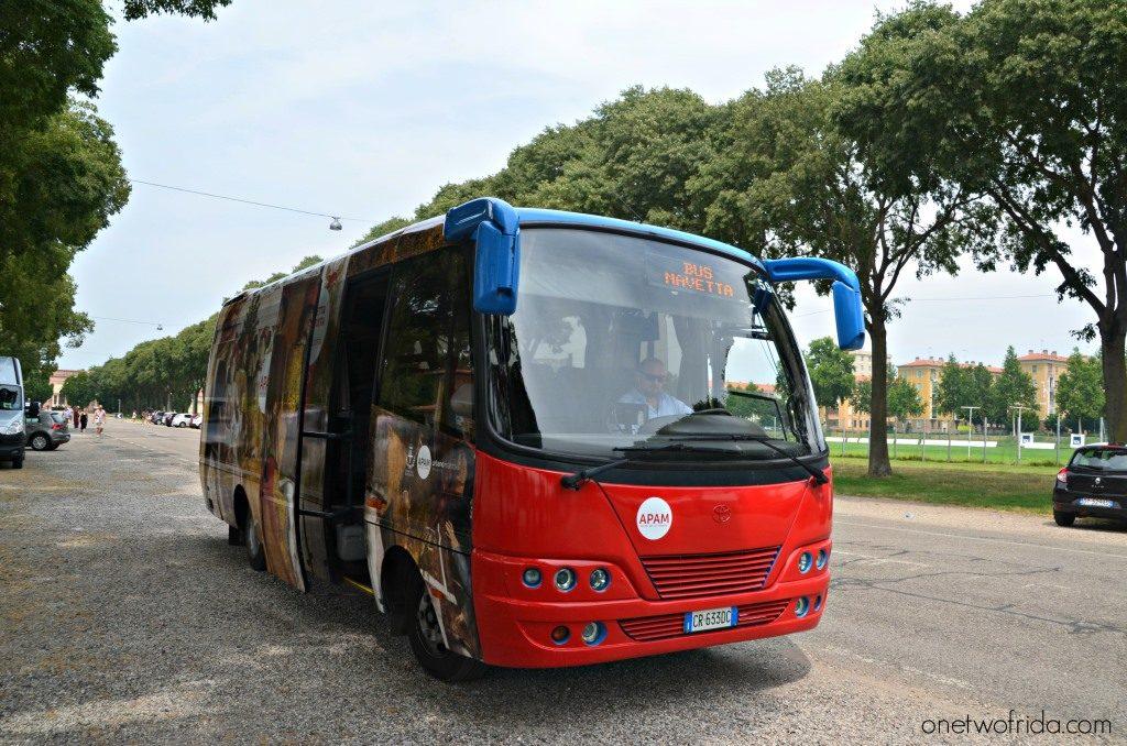Bus navetta gratuito di Mantova