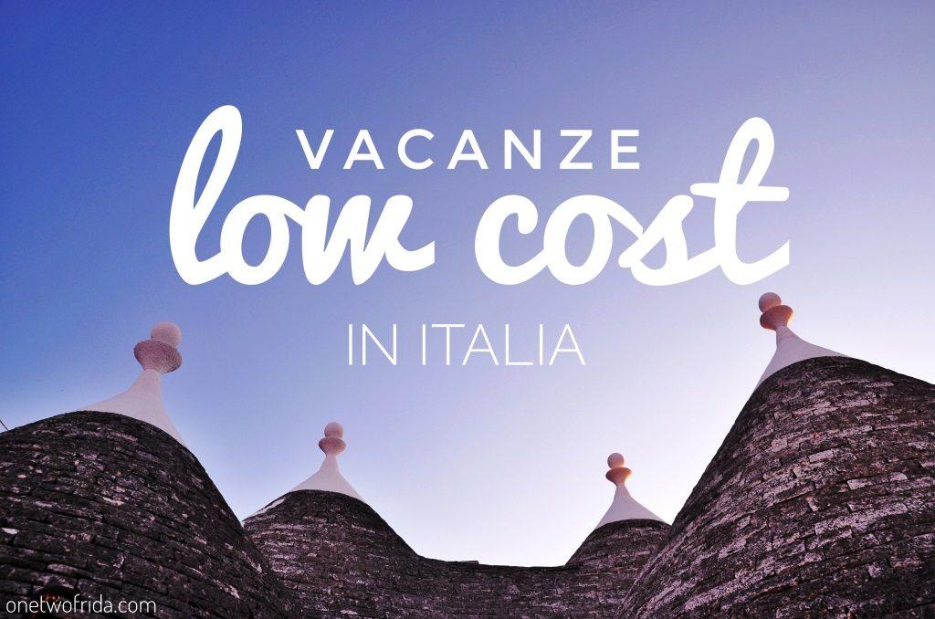 vacanze low cost in Italia