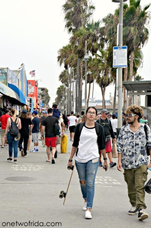 Venice Beach walkboard