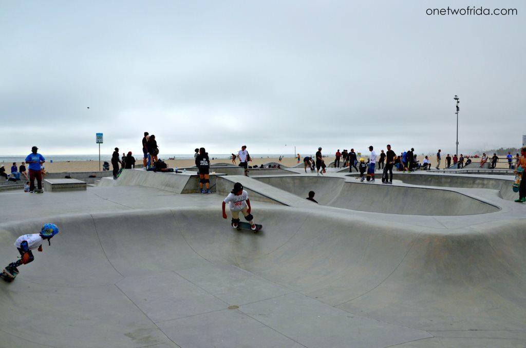 Venice Beach: skateboard