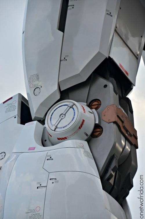 Gundam dettaglio