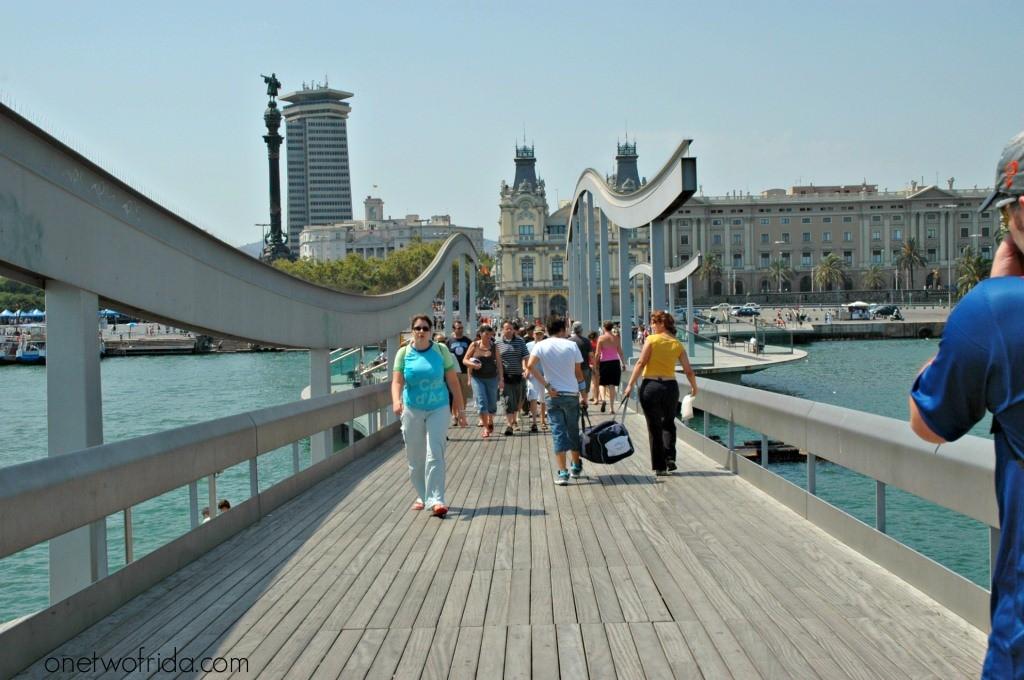 Rambla de Mar - Barcellona