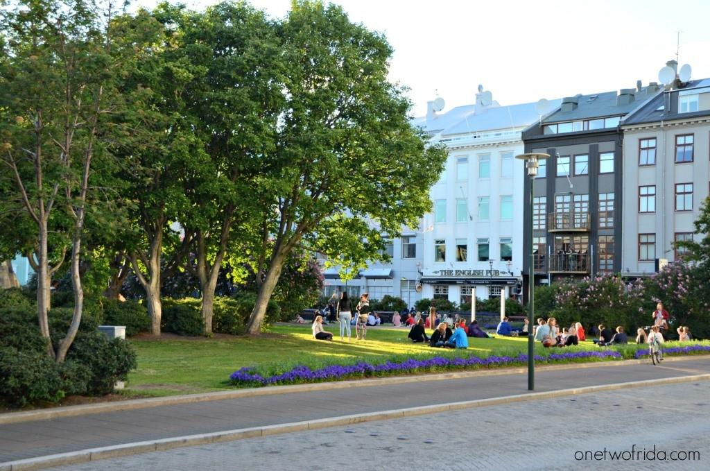 piazza Austurvöllur, dove mangiare a Reykjavìk
