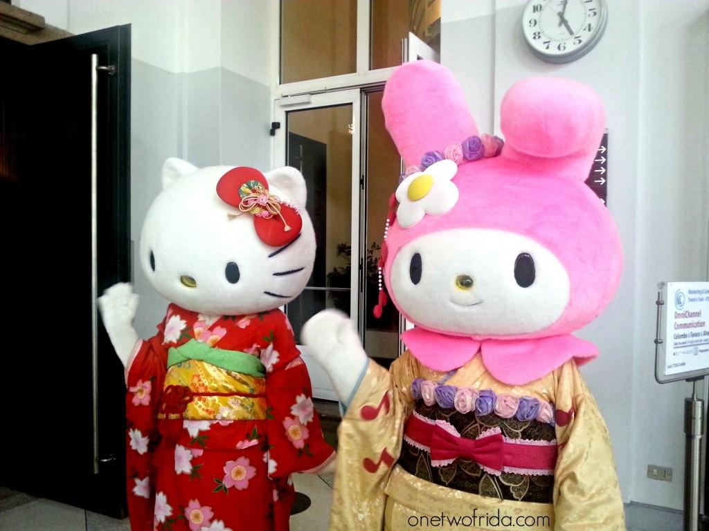 Sapori giapponesi - Salone Giappone - Milano - Hello Kitty