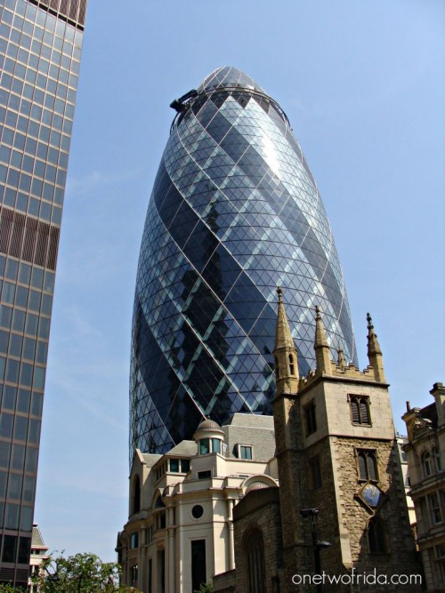 Londra - Gherkin - Norman Foster