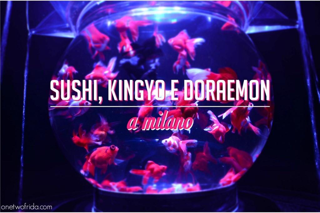Sushi - Kingyo - Doraemon - Milano