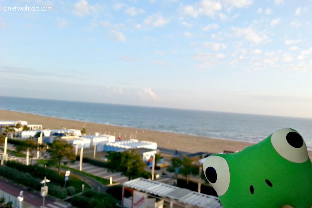 Frida a Rimini - spiaggia di Riccione