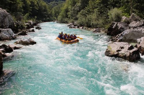 rafting con aktivni planet