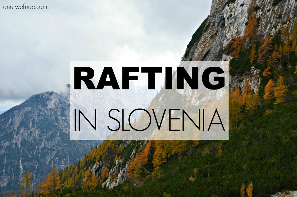 RAFTING IN SLOVENIA