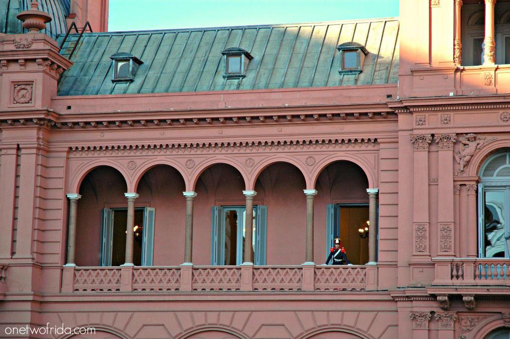 Argentina #unafotoalgiorno Buenos Aires Casa Rosada