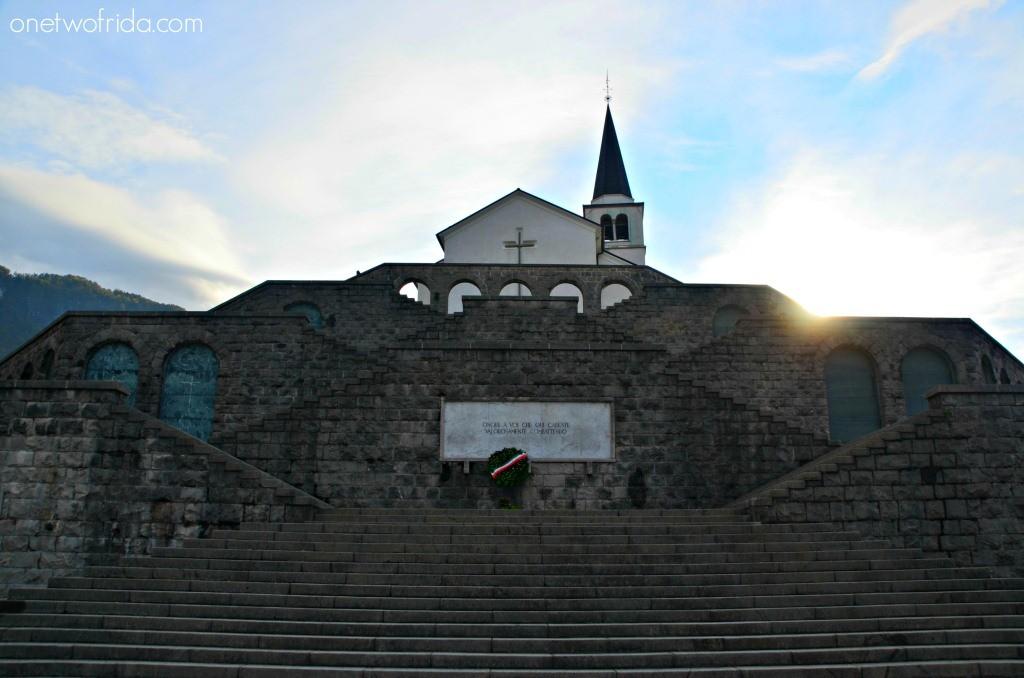 Memoriale caduti italiani - Kobarid, Slovenia
