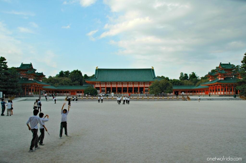 Cosa vedere a Kyoto - Heian Jinja