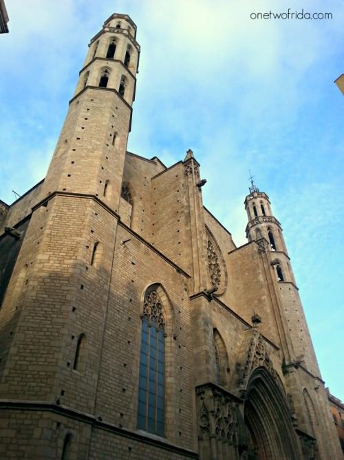Santa maria del mar - El born - Barcellona