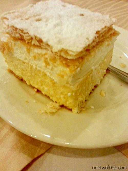 Cosa vedere in Slovenia: itinerario di 2 o 3 giorni - cosa mangiare - torta di bled