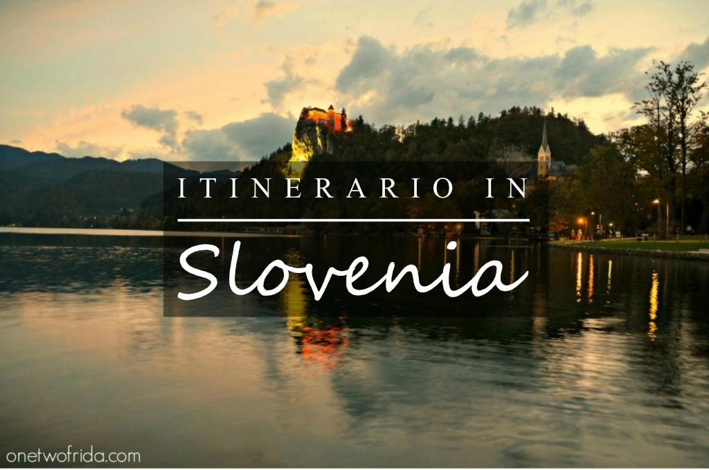 itinerario in slovenia