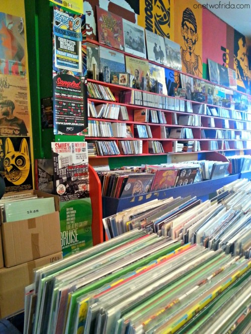 Musica in viaggio - record store Londra