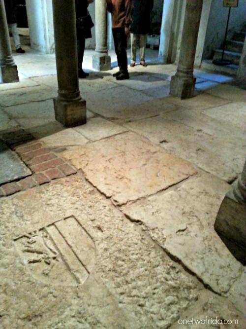Milano, cripta di San Sepolcro