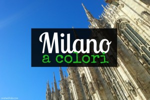 Milano a colori - blogtour cover