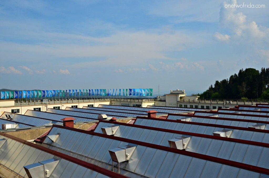 le banderuole sul tetto del lanificio