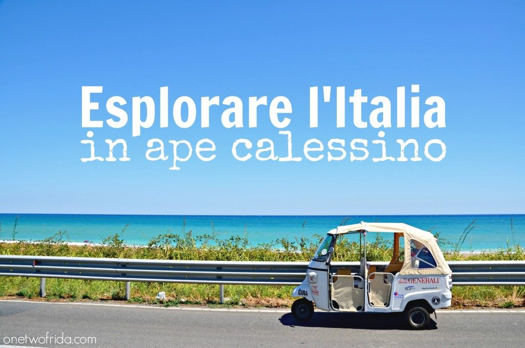 esplorare l'italia in ape calessino