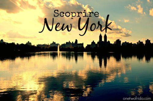 Scoprire New York: una foto al giorno