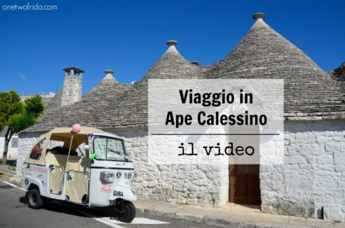 Viaggio in Ape Calessino: il video