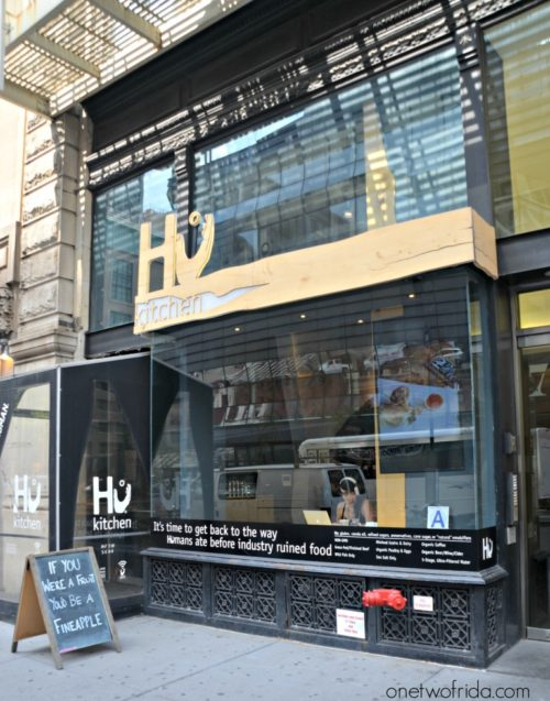 Hu Kitchen sulla 5th avenue