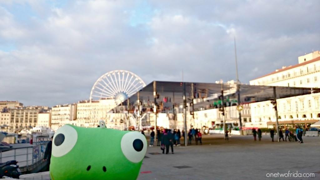 Marsiglia cosa vedere - Il padiglione di Norman Foster al vecchio porto