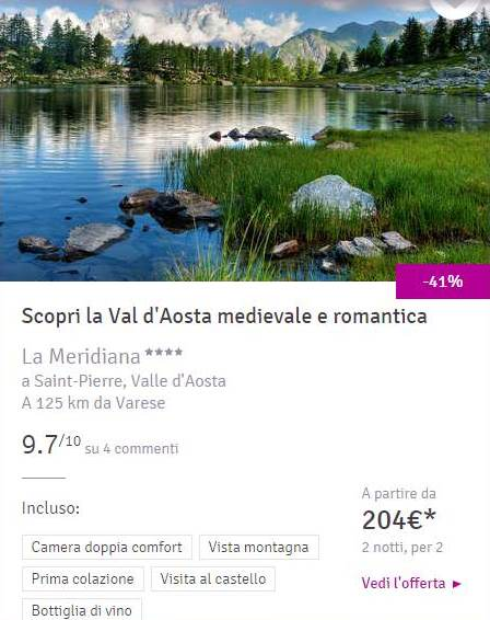 week end low cost in Italia