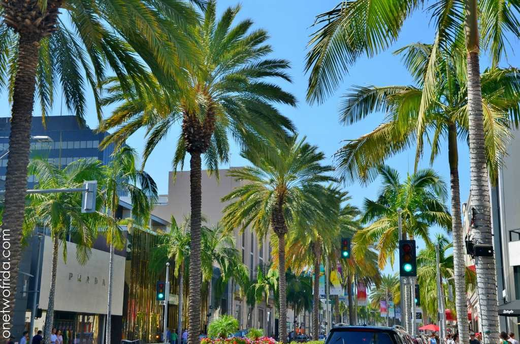 Rodeo Drive - da vedere a Beverly Hills - Los Angeles
