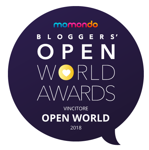 And the winner is… Vincitrice del Concorso Open World Awards 2018 indetto da Momondo nella categoria Open World. Clicca qui per leggere l'articolo con cui ho vinto.