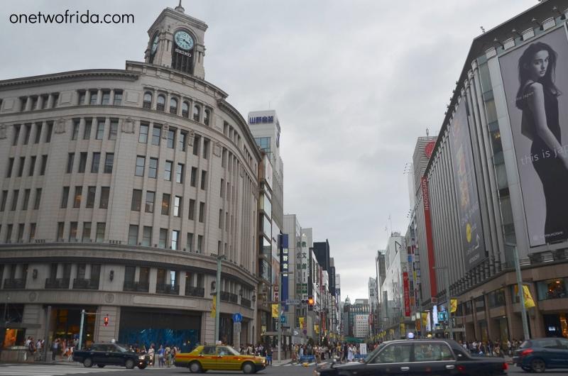 Quartieri di Tokyo: Ginza